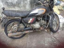 vintage bike cd 100 hero honda