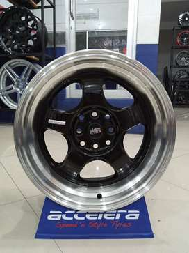 Veleg mobil racing Ayla R16 HSR Brisket Ring 16 Lebar 7/8,5 Brio Swift