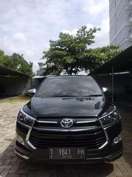 Toyota Innova V bensin metik 2017 hitam dress up venturer