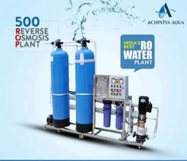 Reverse Osmosis (RO Water Plants) is often used to  clean-up tap water
