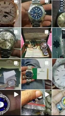 Terima jam tangan seken, bekas. 2and, ori, swiss, original