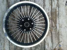 Dual disk for royal enfield