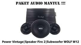 Promo Paket Audio Mobil Murah, termasuk Box dan Pemasangan