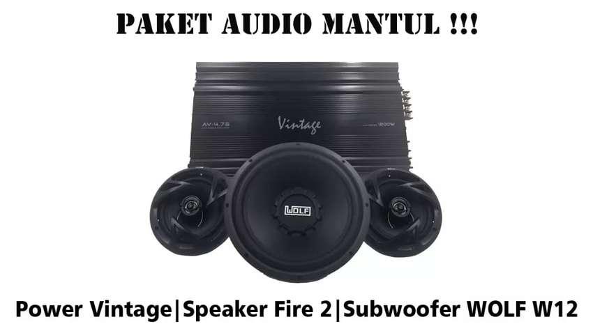 Promo Paket Audio Mobil Murah, termasuk Box dan Pemasangan 0