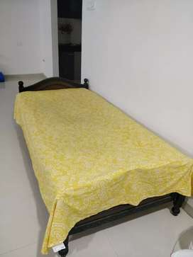 Single bed with 2 mattress
