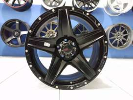 Velg HSR Landmark R18*8 H5*114 Black