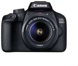DSLR Canon EOS 3000D Camera for rent