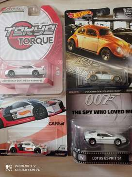 Hotwheels premium car volkswagen nissan lotus audi