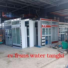 Frans water distributor alat usaha air minum