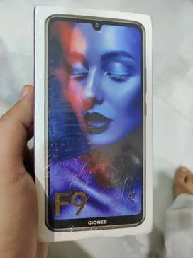 Gionee F9 Brand New Sealed 3gb ram , 32rom, Blue colour