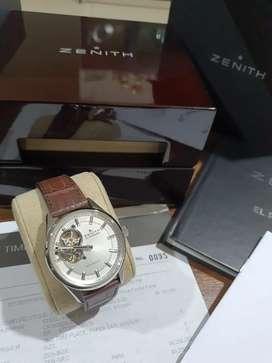 Jam Branded Zenith EL PRIMERO, Jamny Raffi Ahmad (Kondisi 99,9% baru)