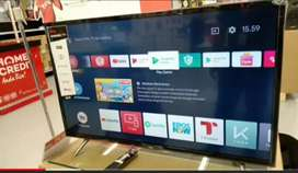 LED 32  TCL android tv tipe L32S6800 (dobel Remote google voice)