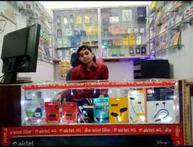 MOBILE shop Every thing sell total sell All is excellent condition