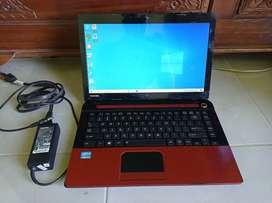 Toshiba C40-A Core i3 Ram 4gb Merah