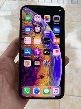 iPhone XS 64gb Putih Super Mulus 97% Hp Cas Siap Pakai No Minus