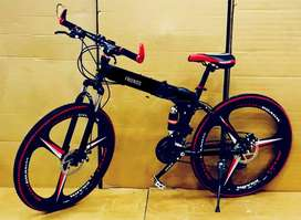 New foldable cycle with 21 gears