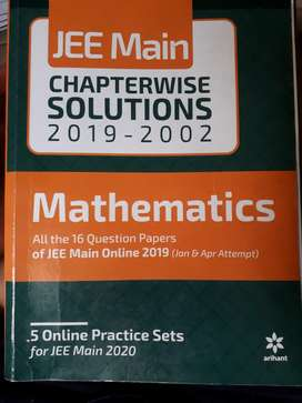 JEE MAINS chapter wise solution uptown 2019