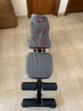 Gym Bench-Brand new-Adjustable-and two heavy duty floor mats