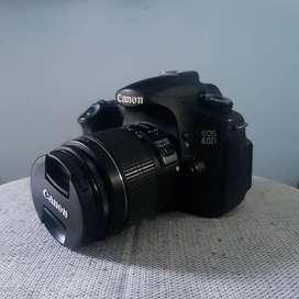 Canon EOS 60D Fullset + Lensa Kit Second Yogyakarta