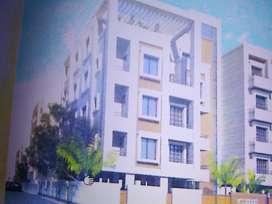 2BHK  semi-furnished flat in prime locality Karelibaug