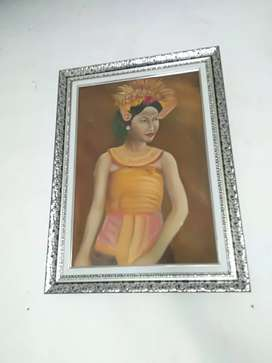 Lukisan Kanvas 59x79