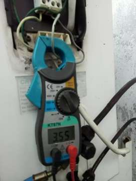 Service ac,mesin cuci,pompa air,dll.