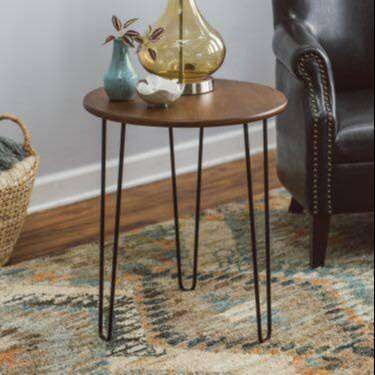 Sumptuous Wooden Top with Hairpin Legs 0