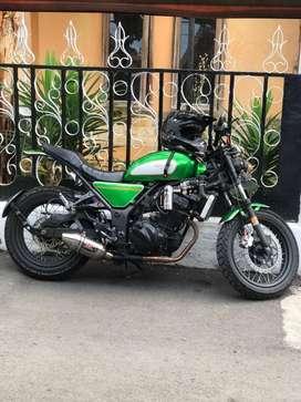 Kawasaki ninja 250 scrembler