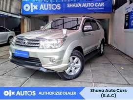 [OLX Autos] Toyota Fortuner 2011 G 2.5 TDR Diesel Silver #Shava