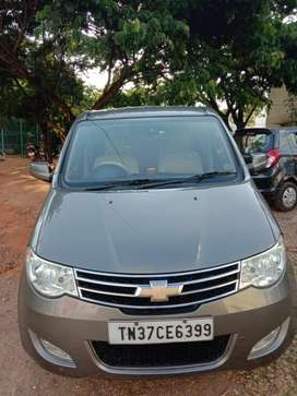 Chevrolet Enjoy 1.4 LTZ 8 STR, 2013, Diesel