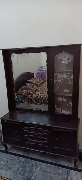 dressing table of solid wood