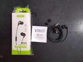 headset head set handsfree kabel robot RE 101 ngebass (sinar kita)