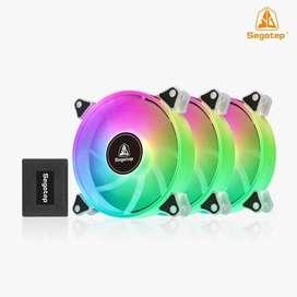 Fan Case 3 in 1 Segotep Romantic 12 ARGB Combo