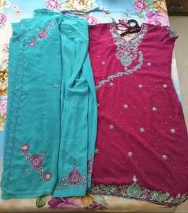Fashionable salwar kurta  - size 44