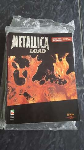 Buku Partitur Guitar Metallica 'Load'