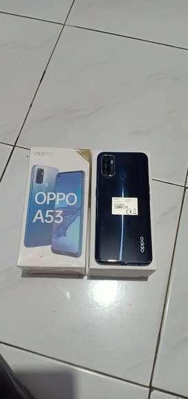 Oppo a53 ram 4/64 fullset full ori