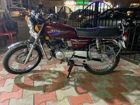 Yamaha Rx 135 5 Speed, Restored with Rx King Spares.