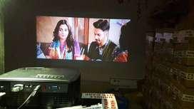 intrex 3d 4k wifi projector smart youtube live tv usb hdmi 151 jhh