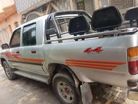 Double cabin hilux for sale.