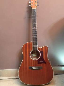 Sale OfferMatilda semi acoustic with builtin tuner 5 band Eq brand new