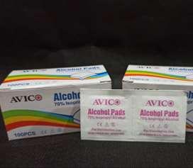 tissue Avico alkohol pads