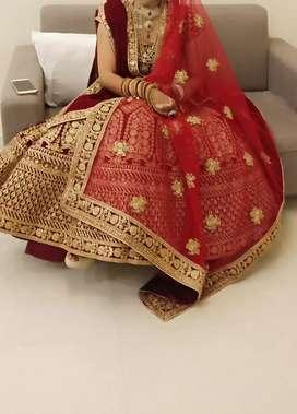 Bridal dress on rent