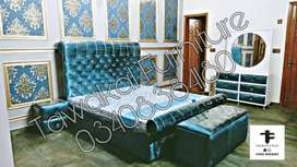 The full cushion new color bridal Bedroom set..