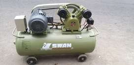 dijual Compressor  swan 2 hp komplit dinamo