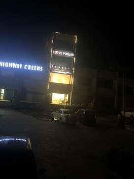 Showroom for rent on main chandigarh ropar highway near balaungi