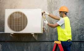 AC installation technician