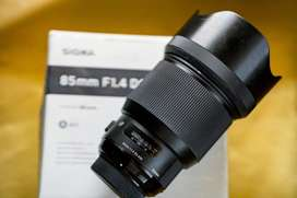 Sigma 85mm f/1.4 DG HSM Art Lens Nikon Mount