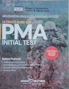 Ultimate Guide for PMA Initial Test by Dogars(Join Pak Army as Officer