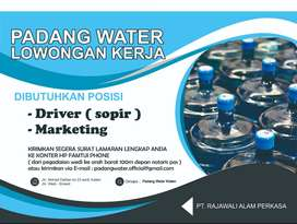 driver / sopir / marketing
