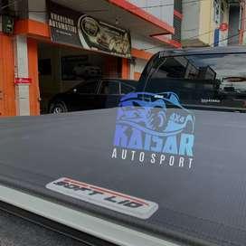 TUTUP BAK DOUBLE CABIN MODEL SOFLIT CARRYBOY IMPORT THAILAND